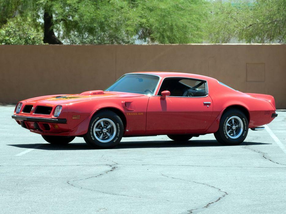 1974 Pontiac Firebird Trans-Am SD-455 muscle classic 455 trans  g wallpaper