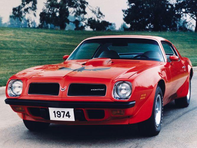 1974 Pontiac Firebird Trans-Am SD-455 muscle classic 455 trans wallpaper