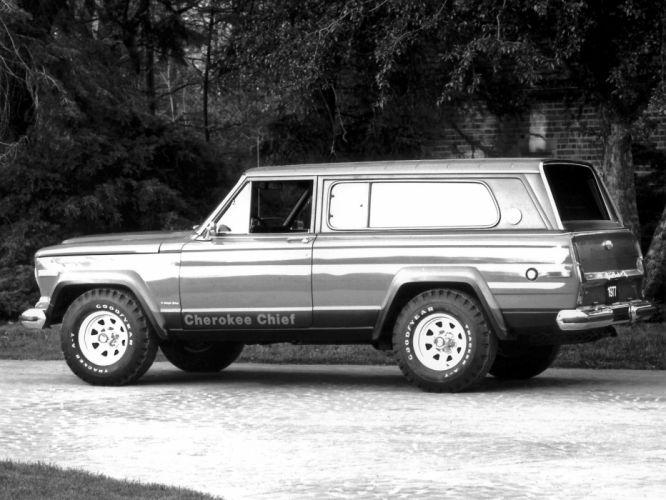 1975 Jeep Cherokee Chief SJ 4x4 truck classic h wallpaper