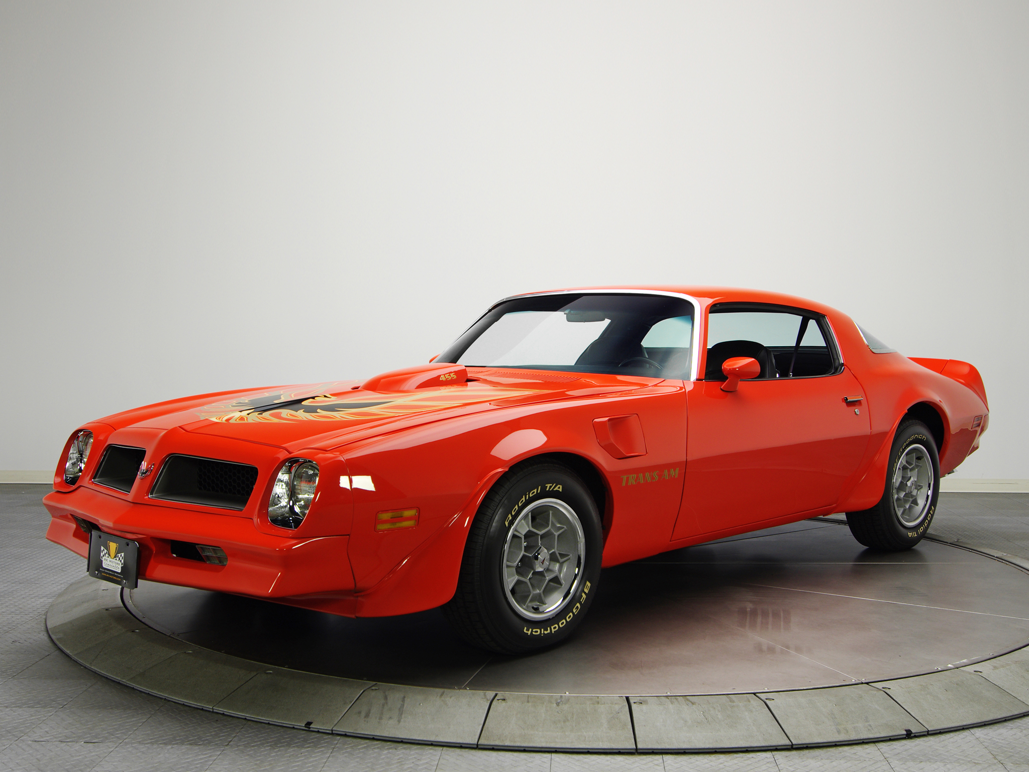 1976 pontiac firebird trans am l75 455 muscle classic. Black Bedroom Furniture Sets. Home Design Ideas