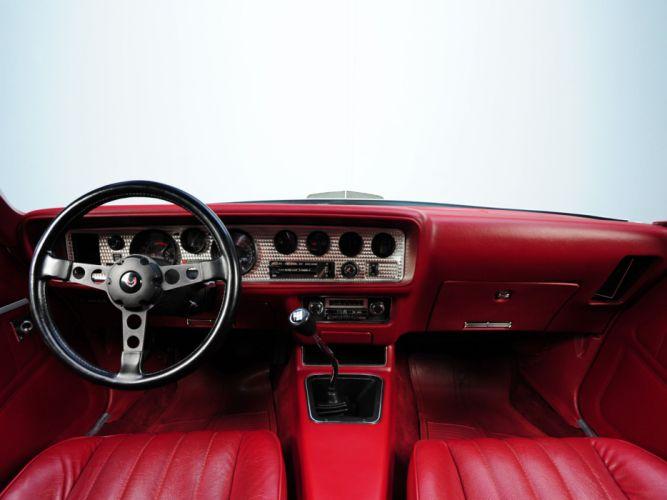 1977 Hurst Pontiac Firebird Trans-Am T-A 6-6 W72 T-Top muscle classic trans interior wallpaper