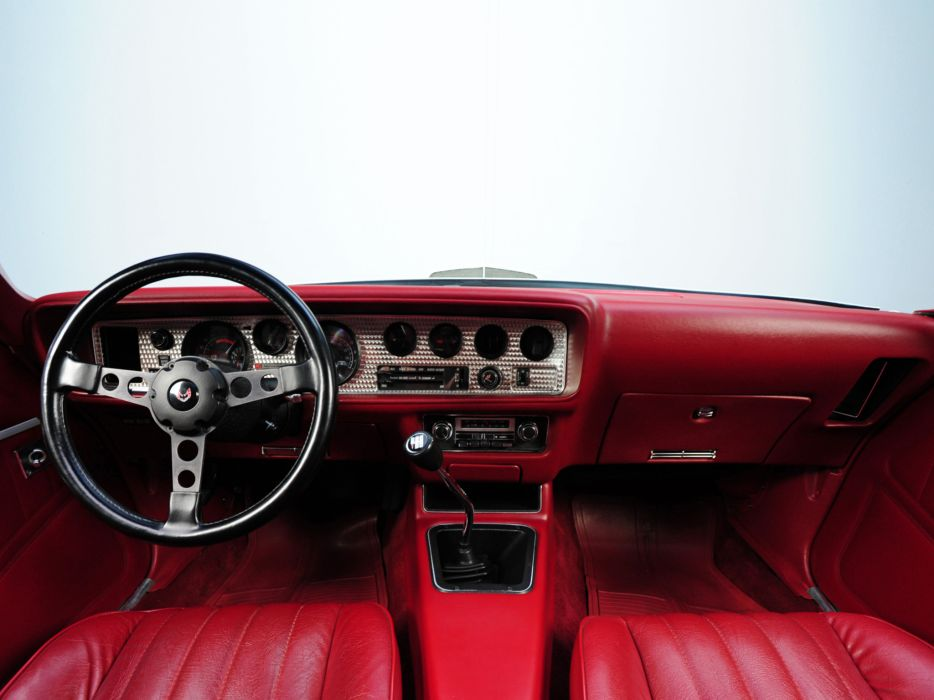 1977 Hurst Pontiac Firebird Trans-Am T-A 6-6 W72 T-Top muscle classic trans interior wallpaper