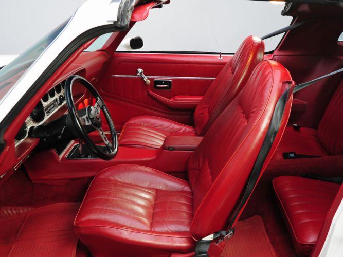 1977 Hurst Pontiac Firebird Trans-Am T-A 6-6 W72 T-Top muscle classic trans interior d wallpaper