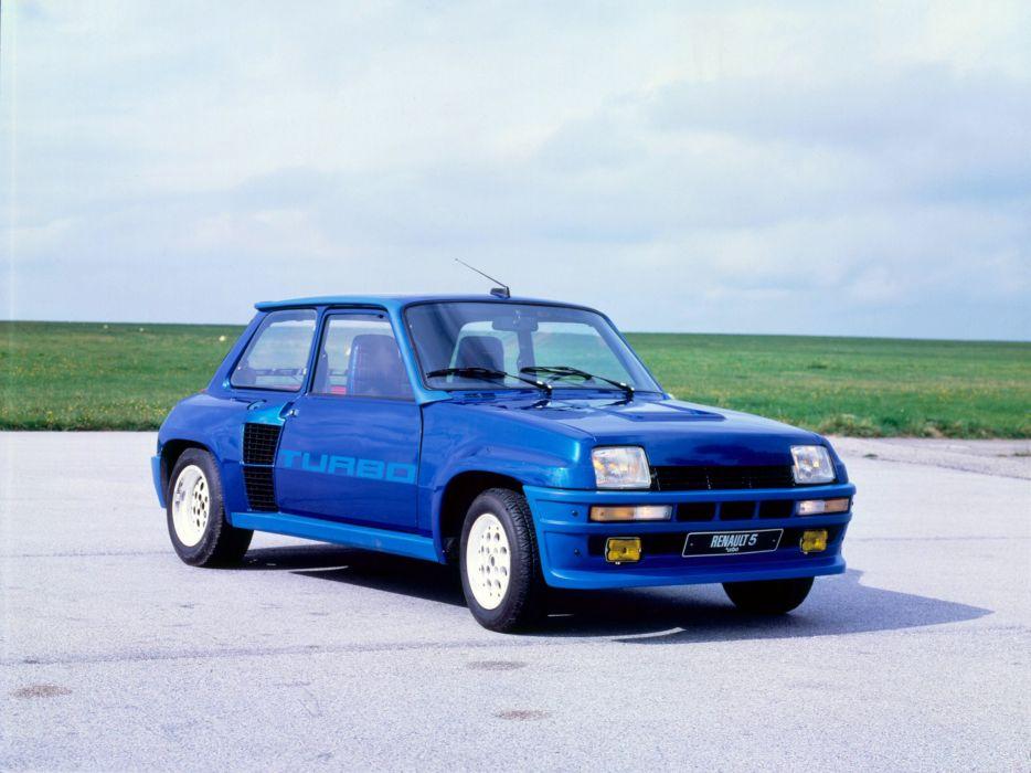 1980 Renault 5 Turbo classic  f wallpaper