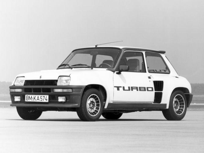 1980 Renault 5 Turbo classic g wallpaper