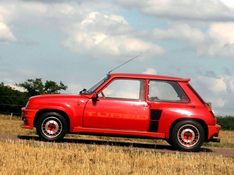 1980 Renault 5 Turbo classic wallpaper