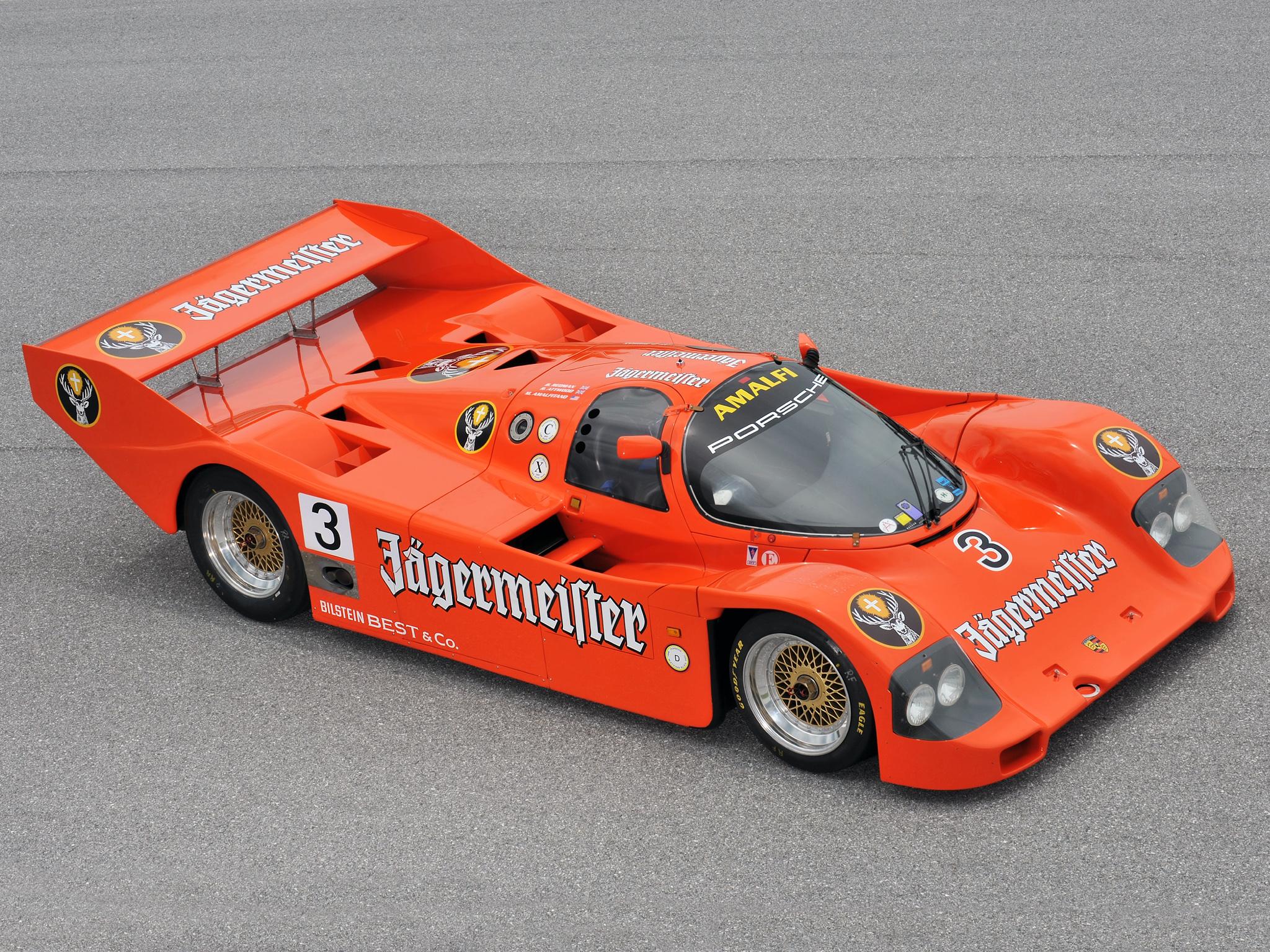 19841993 Porsche 962 Dark Cars Wallpapers