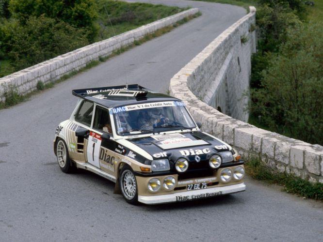 1985 Renault 5 Maxi Turbo race racing classic g wallpaper