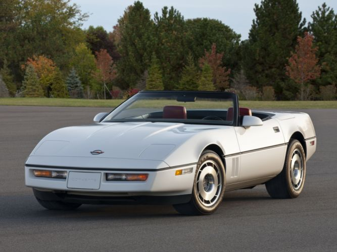 1986 Corvette Convertible supercar supercars muscle classic f wallpaper
