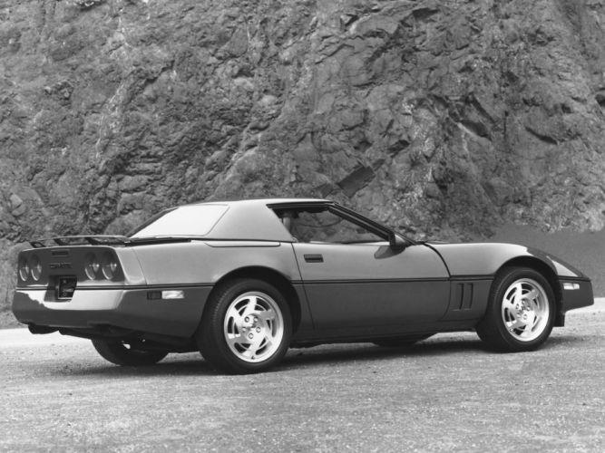 1986 Corvette Convertible supercar supercars muscle classic fb wallpaper