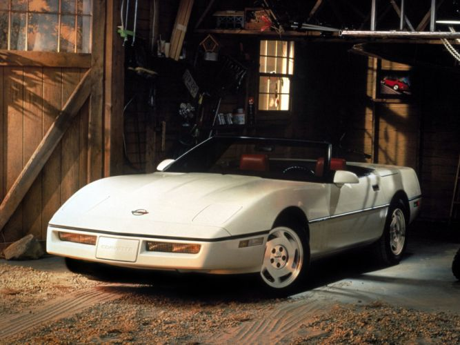 1986 Corvette Convertible supercar supercars muscle classic fs wallpaper