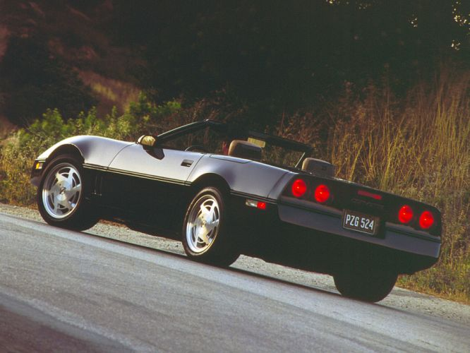 1986 Corvette Convertible supercar supercars muscle classic f wallpaper