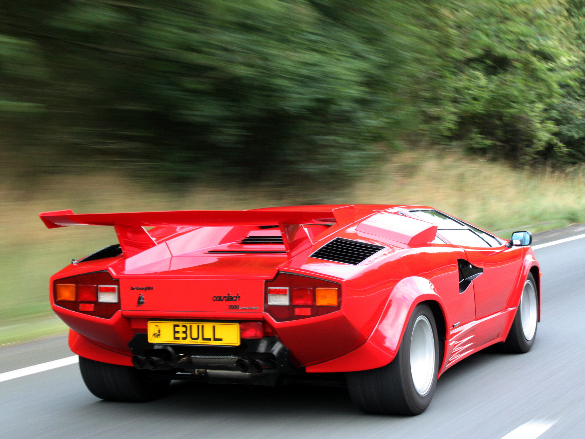 1988 Lamborghini Countach Lp5000 Quattrovalvole Uk Spec