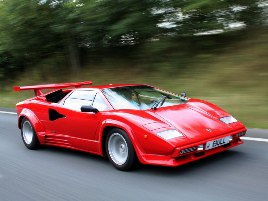 1988 Lamborghini Countach Lp5000 Quattrovalvole Uk Spec Supercar