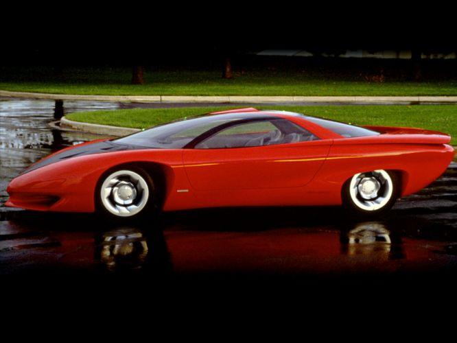 1988 Pontiac Banshee Concept supercar supercars f wallpaper