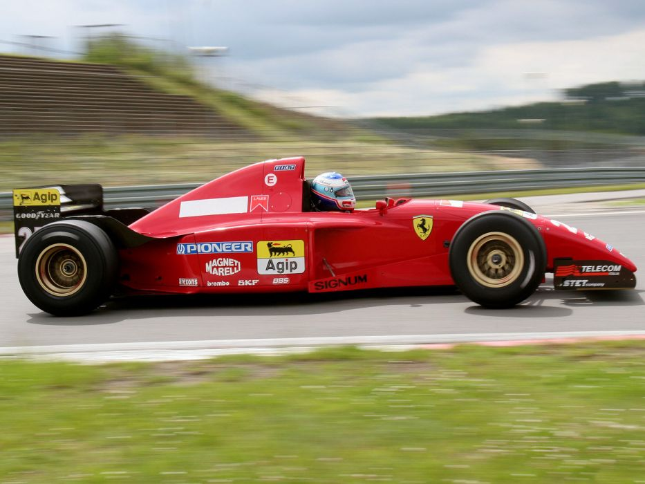 1995 Ferrari 412 T2 race racing formula one f-1 t-2    h wallpaper