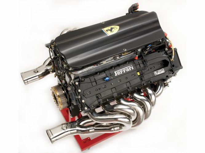 1995 Ferrari 412 T2 race racing formula one f-1 t-2 engine engines wallpaper