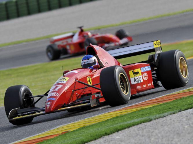 1995 Ferrari 412 T2 race racing formula one f-1 t-2 hd wallpaper