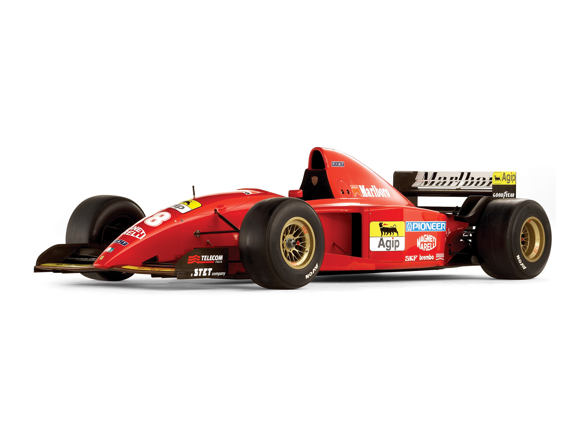 1995 Ferrari 412 T2 Race Racing Formula One F 1 T 2 G
