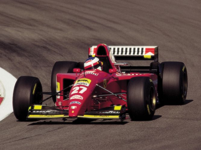 1995 Ferrari 412 T2 race racing formula one f-1 t-2 h wallpaper