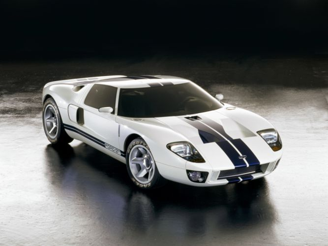 2002 Ford GT40 Concept supercar supercars g wallpaper