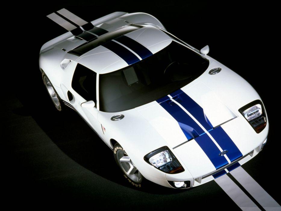 2002 Ford GT40 Concept supercar supercars    jg wallpaper
