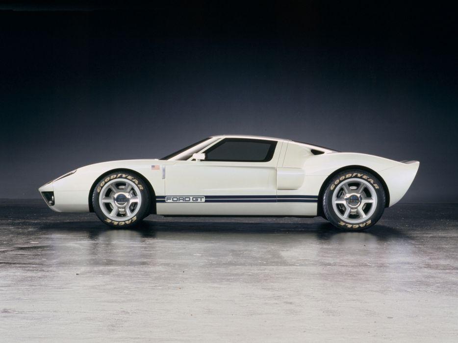 2002 Ford GT40 Concept supercar supercars    kk wallpaper