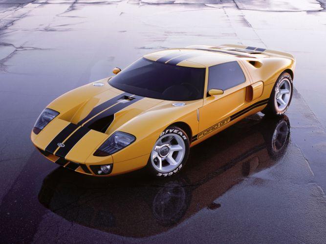 2002 Ford GT40 Concept supercar supercars g wallpaper