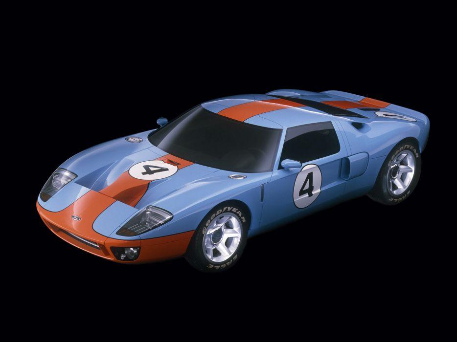 2002 Ford GT40 Concept supercar supercars   j wallpaper