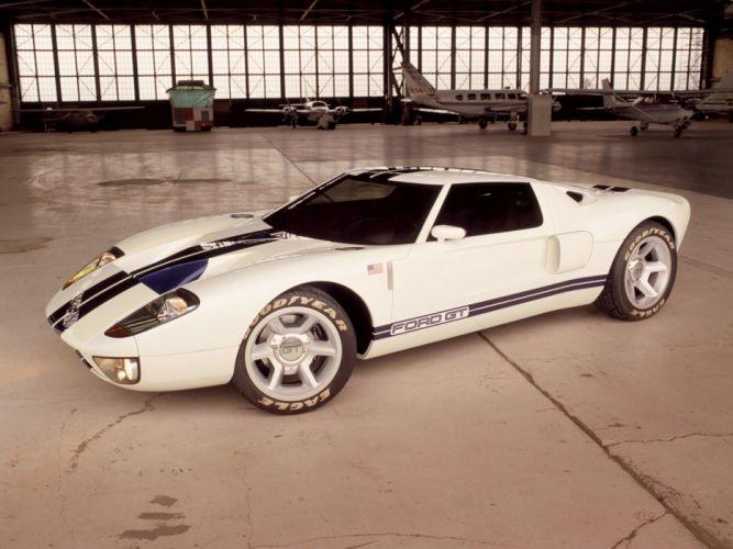 2002 Ford GT40 Concept supercar supercars k wallpaper
