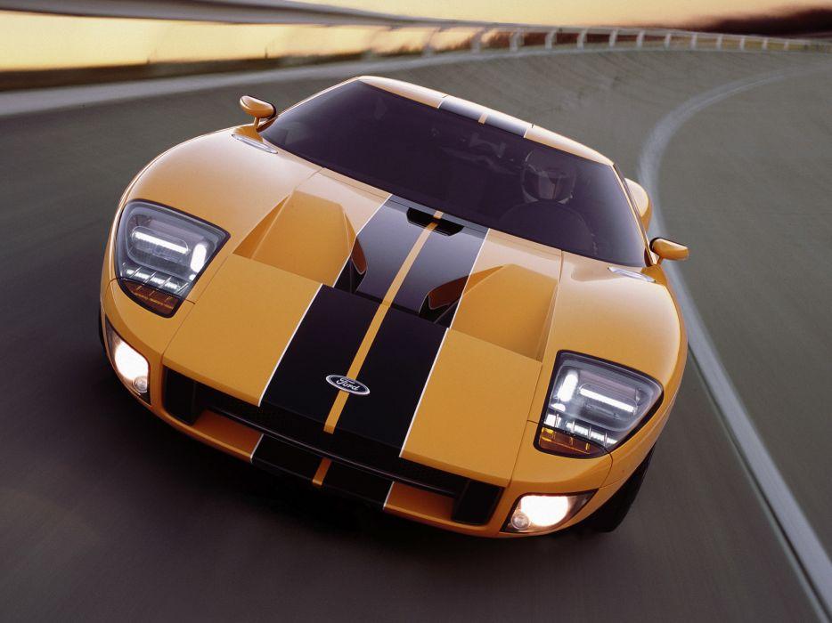 2002 Ford GT40 Concept supercar supercars  h wallpaper