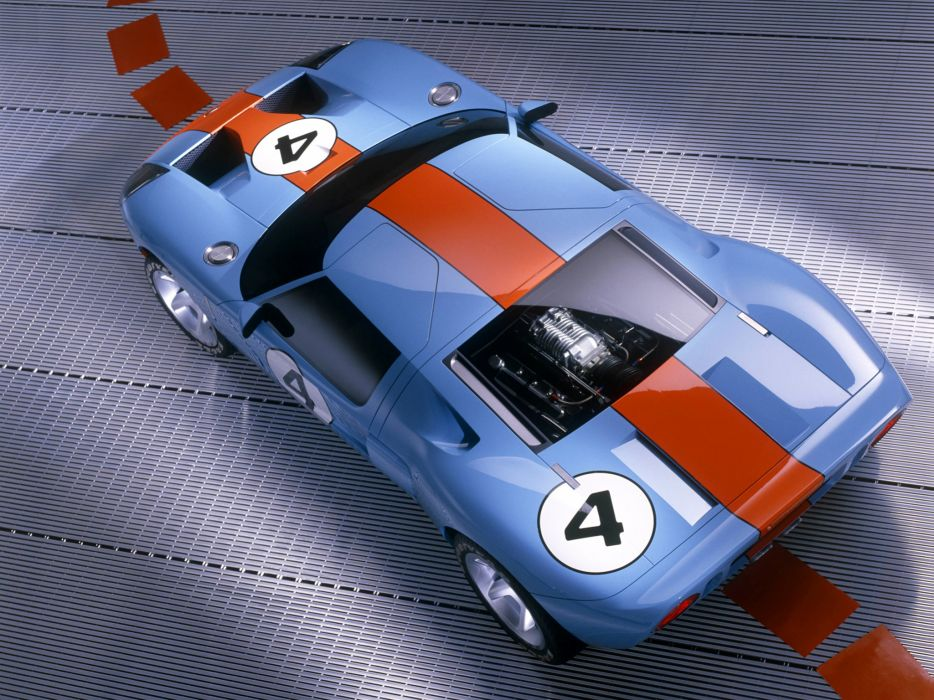 2002 Ford GT40 Concept supercar supercars g engine engines wallpaper