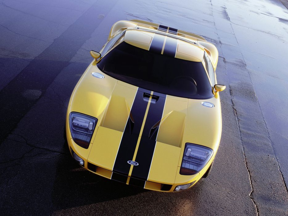 2002 Ford GT40 Concept supercar supercars t wallpaper