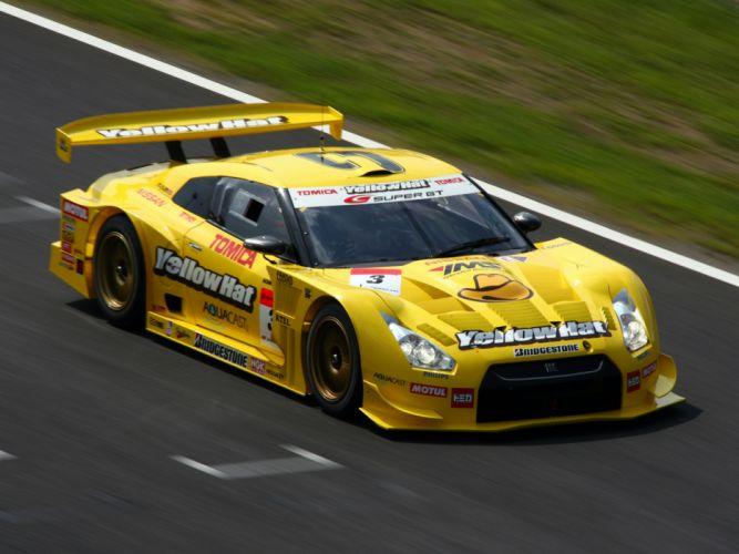 2008 Nissan GT-R GT500 R35 race racing f wallpaper