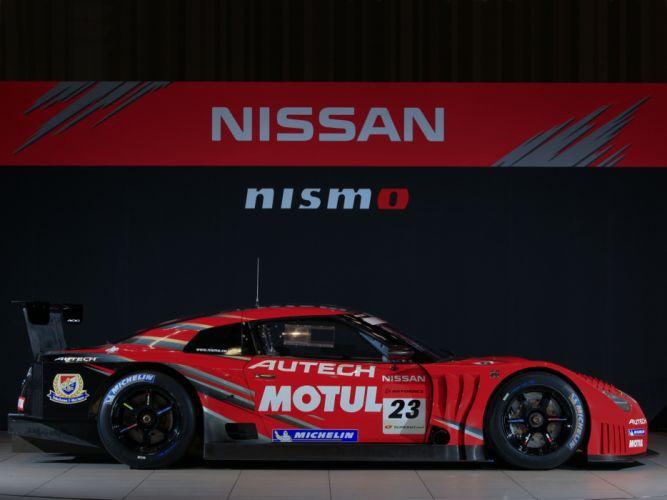2008 Nissan GT-R GT500 R35 race racing gq wallpaper
