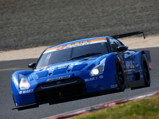 2008 Nissan GT-R GT500 R35 race racing gt wallpaper
