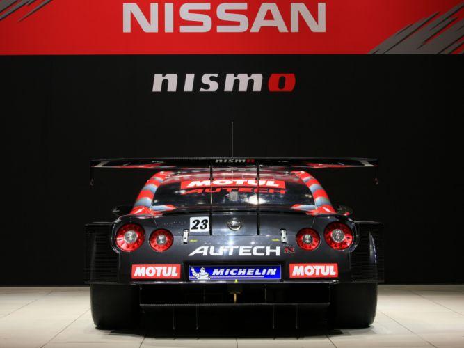 2008 Nissan GT-R GT500 R35 race racing gw wallpaper
