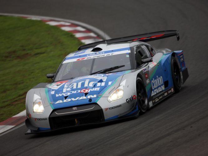 2008 Nissan GT-R GT500 R35 race racing hs wallpaper