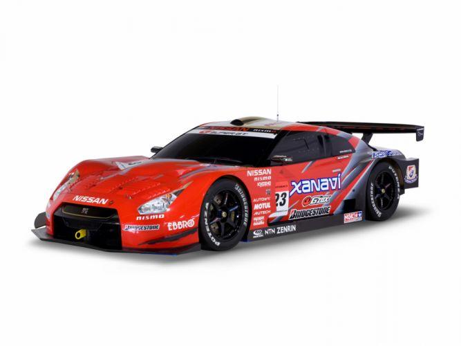 2008 Nissan GT-R GT500 R35 race racing g wallpaper