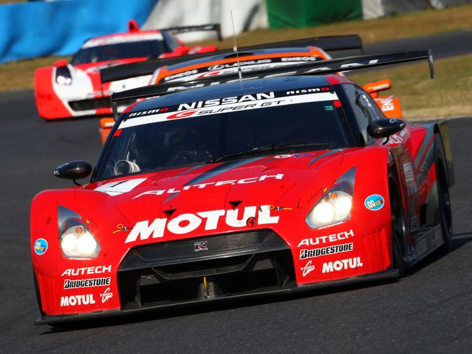 2008 Nissan GT-R GT500 R35 race racing  h wallpaper