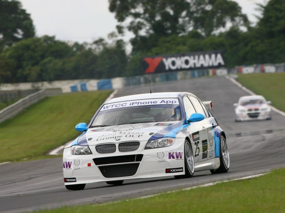 2011 BMW 320 TC WTCC Sedan E90 race racing  f wallpaper