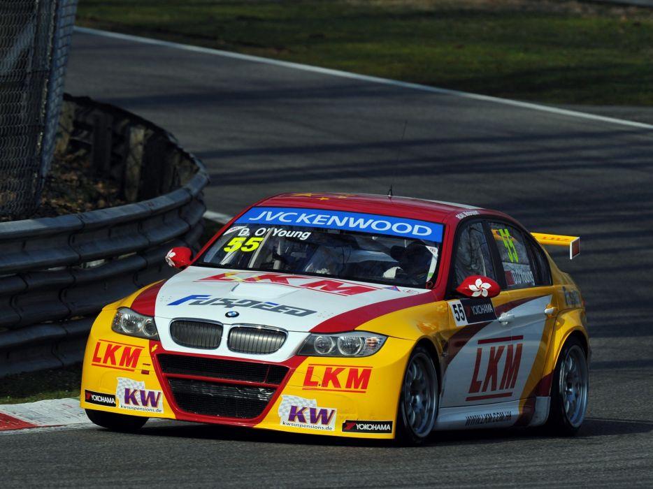 2011 BMW 320 TC WTCC Sedan E90 race racing g wallpaper