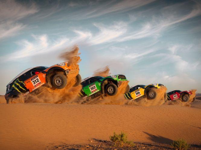 2011 Mini All4 Racing R60 race racing offroad g wallpaper
