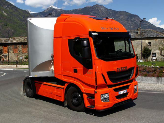2012 Iveco Stralis Hi-Way 500 4x2 semi tractor rig truck transport gs wallpaper