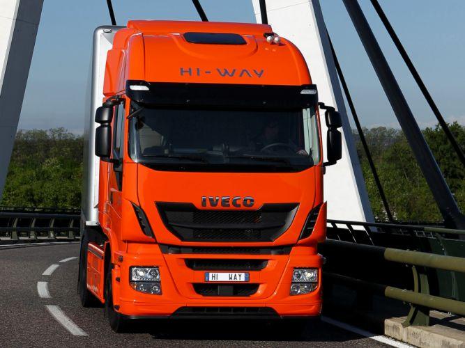 2012 Iveco Stralis Hi-Way 500 4x2 semi tractor rig truck transport nc wallpaper