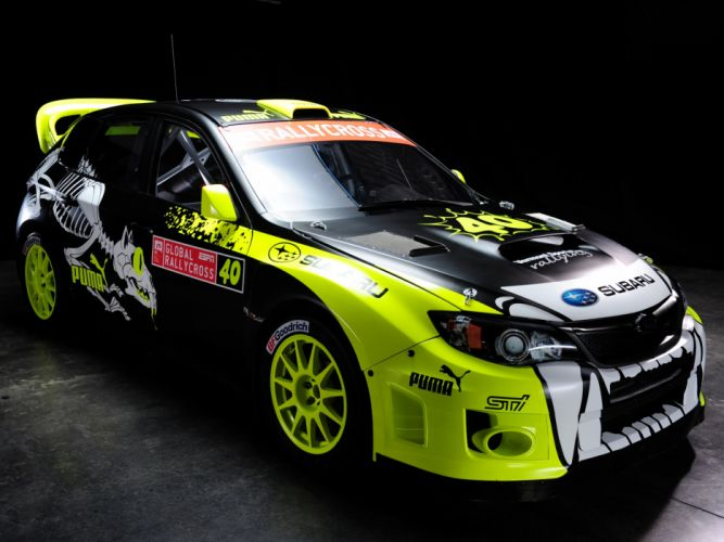 2012 Subaru Impreza WRX STi Rallycross GRB race racing wallpaper