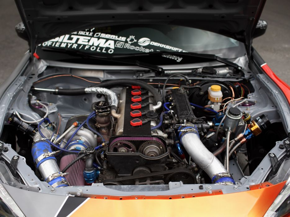 2012 Toyota 86-X Drift 8-6 race racing tuning engine engines               f wallpaper