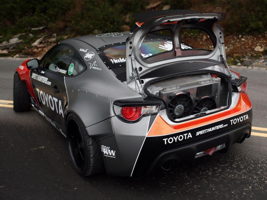 2012 Toyota 86-X Drift 8-6 race racing tuning   g wallpaper