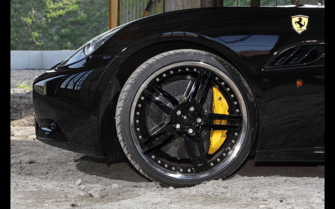 2013 Edo-Competition Ferrari California supercar supercars wheel wheels wallpaper