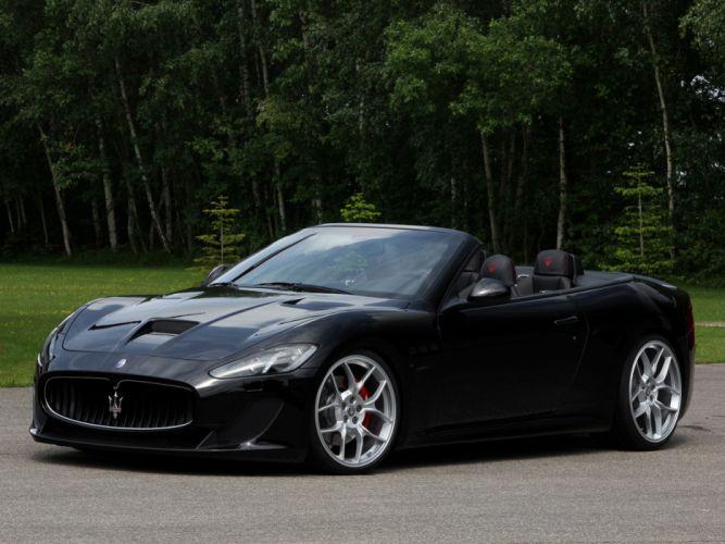 2013 Maserati GranCabrio MC supercar supercars wallpaper